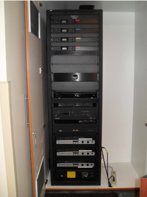 view of rack