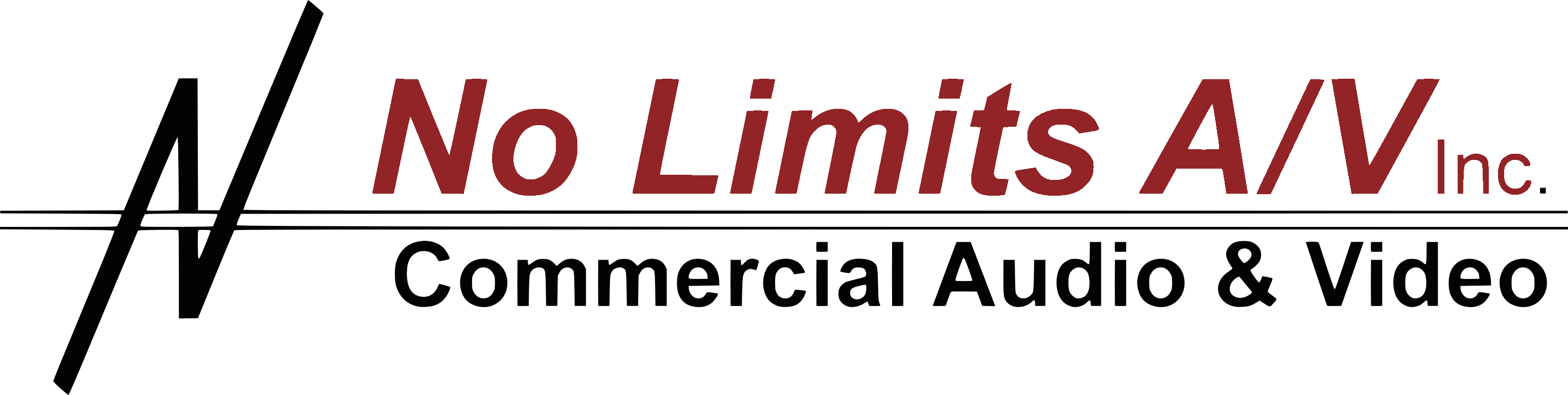 No Limits audio video logo