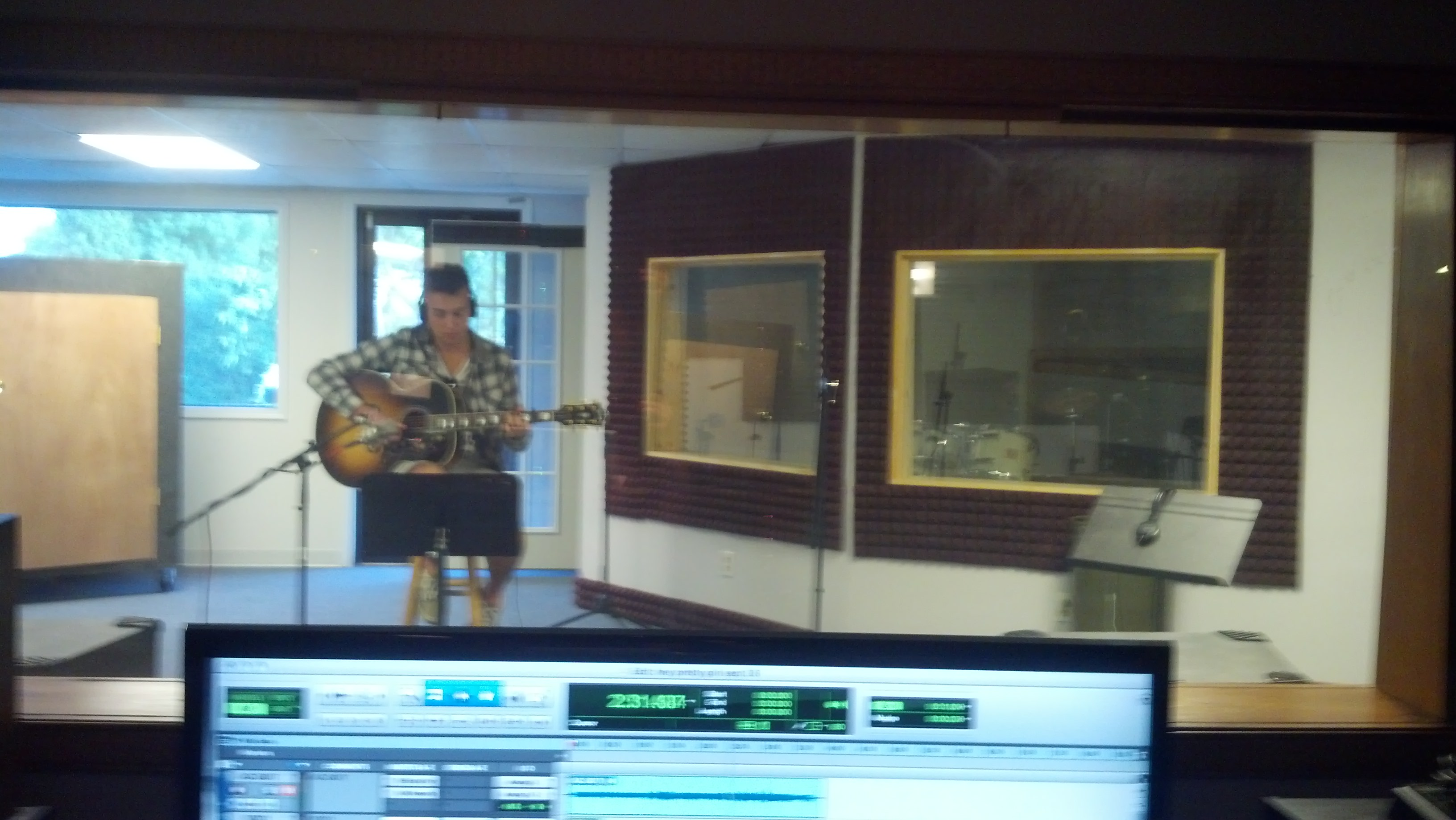 sethcook in studio